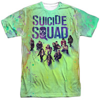 Suicide Squad Movie Poster Sublimated Mens T-Shirt