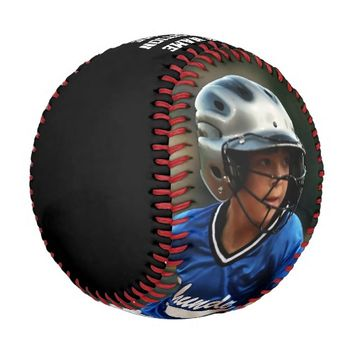 Customized Photo Baseball