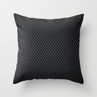 Carbon-fiber-reinforced polymer Throw Pillow by Nick Greenaway | Society6