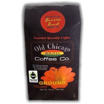 "Bolivia Light Roast ""Sunrise""  Coffee Ground by Old Chicago Coffee Co"