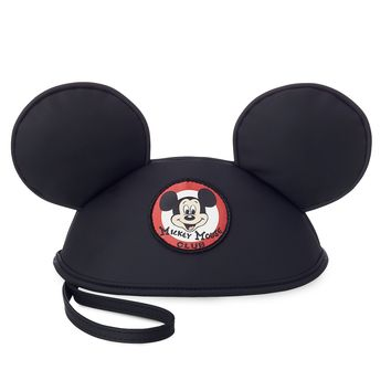 Disney Parks Mickey Mouse Club Mouseketeer Ear Hat Pouch New with Tags