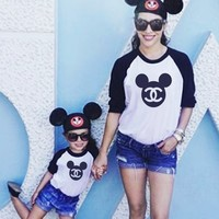 Mickey Chanel Raglan by Cake Life®