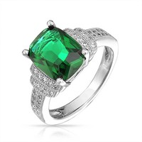 Bling Jewelry Emerald Enchant Ring