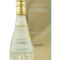 COOL WATER SENSUAL ESSENCE by Davidoff 3.4 oz edp Spray Women's Perfume New NIB