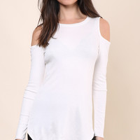 Jac Parker Made The Cut Top - Ivory