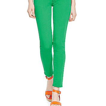 Polo Ralph Lauren Tompkins Cropped Skinny Jeans - Kelly Green