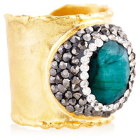 Emerald & Gold Ring, Stone & Novelty Rings