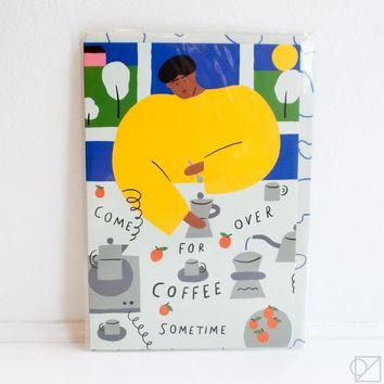 Coffee Invitation Greeting Card