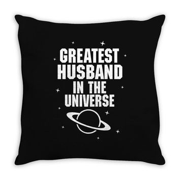 Greatest Husband In The Universe Throw Pillow