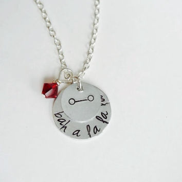 Baymax from Big Hero 6 Inspired Necklace