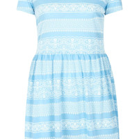 Lace Print Skater Dress - New In This Week - New In - Topshop