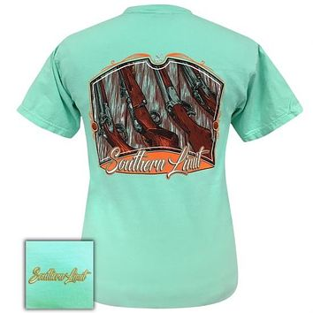 Southern Limits Hunting Guns Island Reef Unisex Comfort Colors T-Shirt