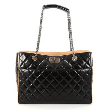Chanel Reissue 2.55 Tote Quilted Calfskin Large
