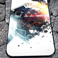 Zelda Shield Sword Triforce  for iPhone 4/4s/5/5S/5C/6, Samsung S3/S4/S5 Unique Case *95*
