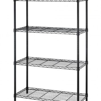 "36""x14""x54"" 4 Tier Layer Shelf Adjustable Steel Wire Metal Shelving Rack T54"