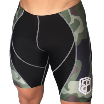 Born Primitive Performance Compression Men's Shorts USA Edition