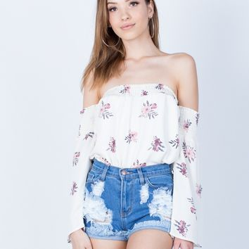Pretty in Floral Top