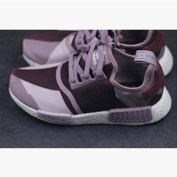 SUMMER11 ADIDAS NMD Women Running Sport Casual Shoes Sneakers camouflage Purpel