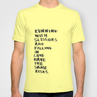 Risks of Falling T-shirt by Lucy Helena