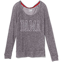 University of Alabama Slouchy Sweater - PINK - Victoria's Secret