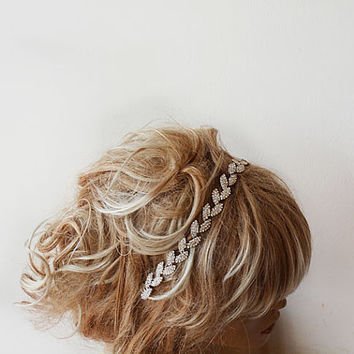 Bridal Headband, Wedding Headband, Bridal Rhinestone Headband, Wedding Headband, Bridal Hair Accessories, Wedding Hair Accessories