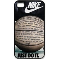 Custom International Brand Nike Logo case cover for iphone 4 4s