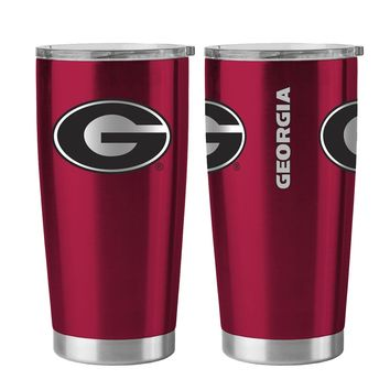 Georgia Bulldogs 20 oz. Stainless Steel Insulated Ultra Travel Tumbler