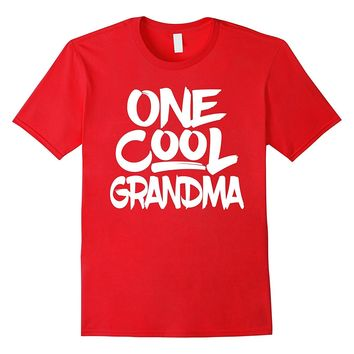 One Cool Grandma T Shirt - Grandmother Mothers Day Gift Tee