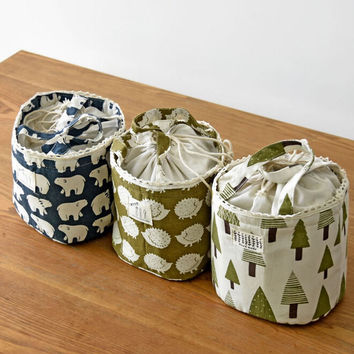 Lunch Bags Thermal Cooler Portable Tote Insulated Food Container Child Food Picnic Storage Organizer Tote Cute Tree Lunch Box