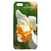 Apricot Daffodil iPhone 5 Case *Personalized*