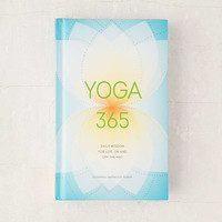 Yoga 365: Daily Wisdom For Life, On And Off The Mat By Susanna Harwood Rubin - Urban Outfitters