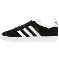 adidas Originals GAZELLE - Sneaker low - core black/white/gold metallic - Zalando.ch