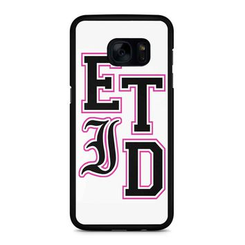 Every Time I Die Varsity Letters Samsung Galaxy S7 Edge Case