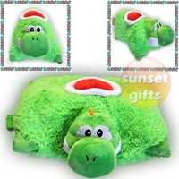 YOSHI Pillow Pet - Bright, Lime-green & Super-soft!!!