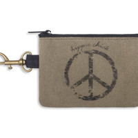 Hippie Chick Coin Purse - Relaxed Retro Style
