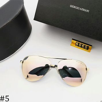 GIORGIO ARMANI 2018 new polarized sunglasses colorful polygonal sunglasses #5