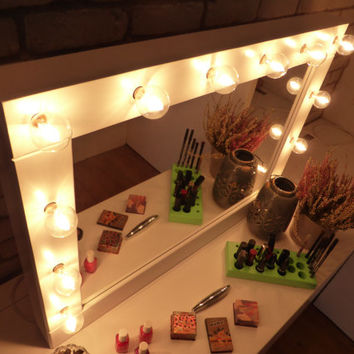 Vanity mirror with lights hollywood style tnjapan for shop hollywood vanity mirror on wanelo mozeypictures Gallery