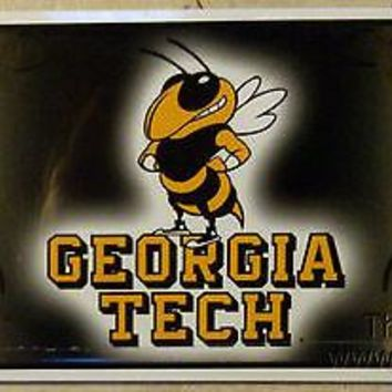 Georgia Tech Yellow Jackets 110301 Metal License Plate Tag University of