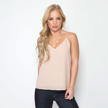 Moonlight Blouse In Nude