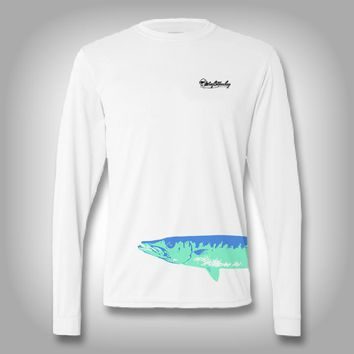 Fish Wrap Shirt -  Barracuda - Performance Shirts - Fishing Shirt