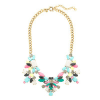Technicolor floral necklace - jewelry - Women's new arrivals - J.Crew