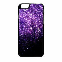 Purple Sparkly iPhone 6 Plus Case