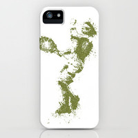 Rafael Nadal Wimbledon Tennis iPhone & iPod Case by DanielBergerDesign