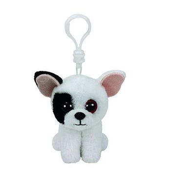 """Ty Beanie Boos 4"""" 10cm Keychain Clip barks dog pippie dog waddles penguin pongo penguin ming panda icy toys for children"""