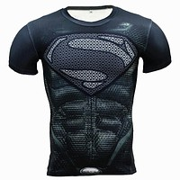 Compression 3D Superhero T-Shirt