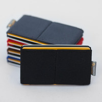 Men wallet, credit card holder, men and wommen wallet ,elastic slim minimalist , modern design