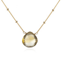 Gold Citrine Necklace - Brighter Than Sunshine