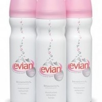 EVIAN Min Water Facial Spray Trio