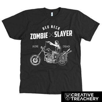 Redneck Zombie Slayer (Daryl Dixon) t-shirt | Great gift for Fans of The Walking Dead