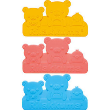 San-x Rilakkuma Relax Bear Lunch Box Divider Partition Set of 3